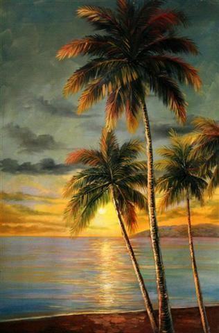 Pin De Pamherrick Prophetic Art En Paintings 7 Landscapes Paisaje Para Pintar Pintura De Playa Paisaje Marino
