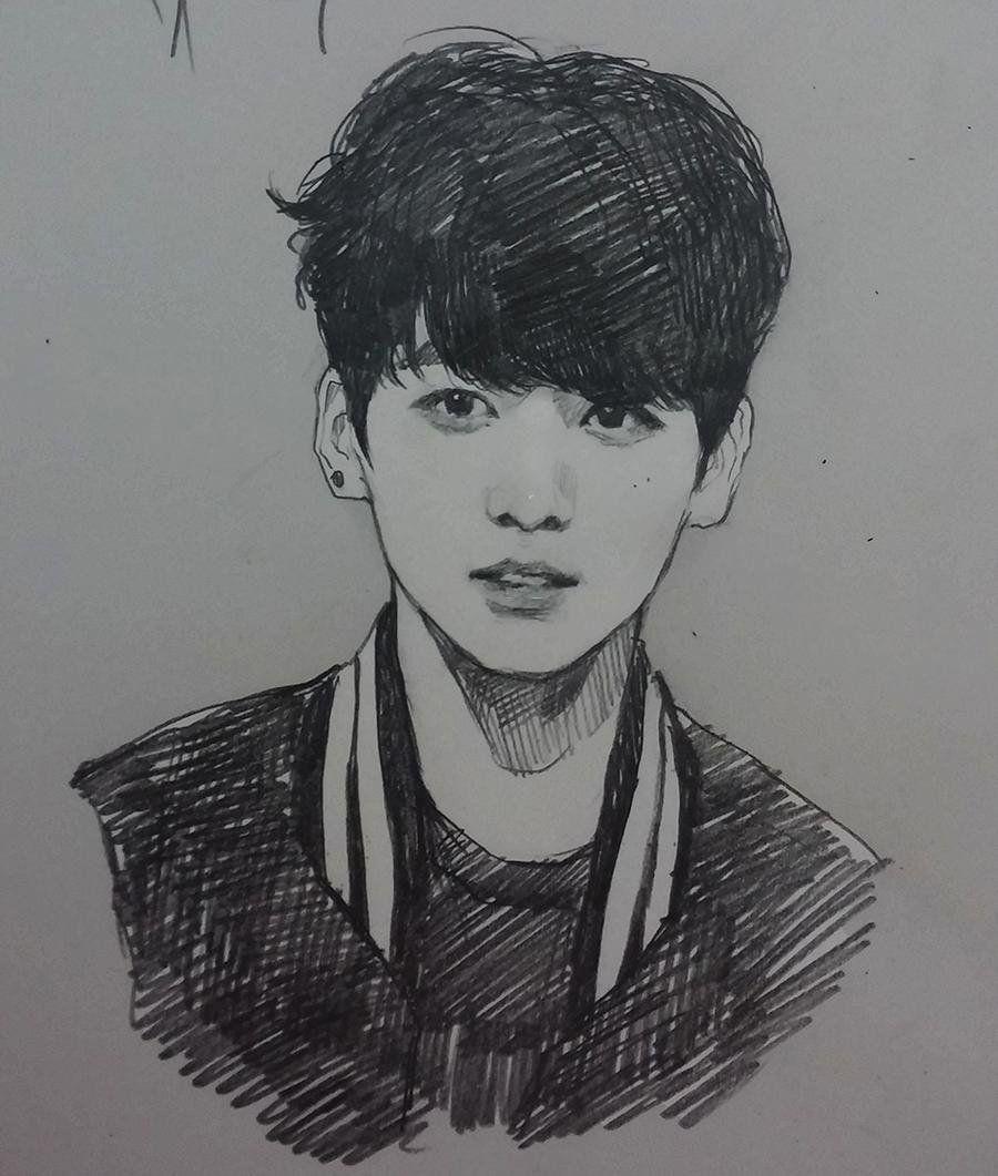 крем корейские рисунки карандашом для начинающих время порка