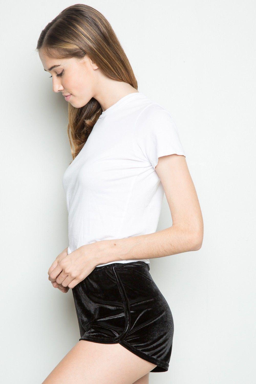 870bf8d06c08b Lisette Velvet Shorts. Lisette Velvet Shorts Black Velvet Shorts