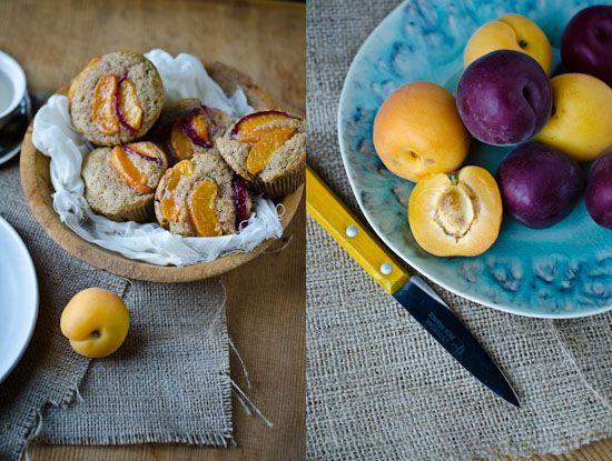 blissful eats with tina jeffers: apricot almondmuffins