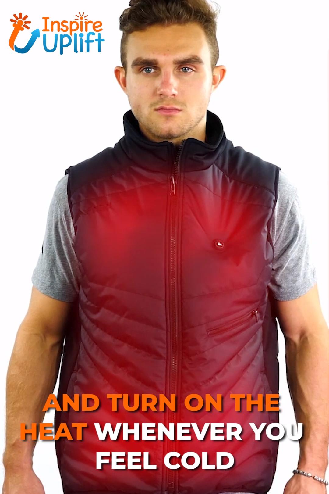 Tech Heated Vest 😍 InspireUplift.com