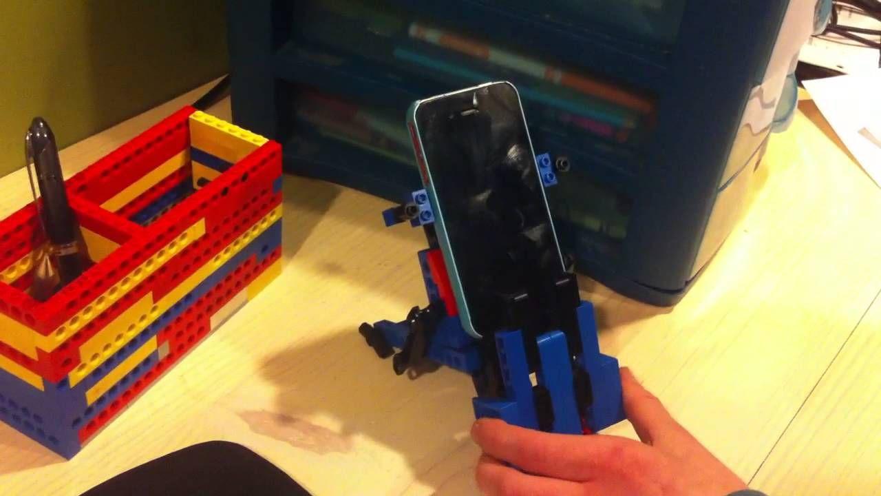 Levi's Lego iPhone Holder Design