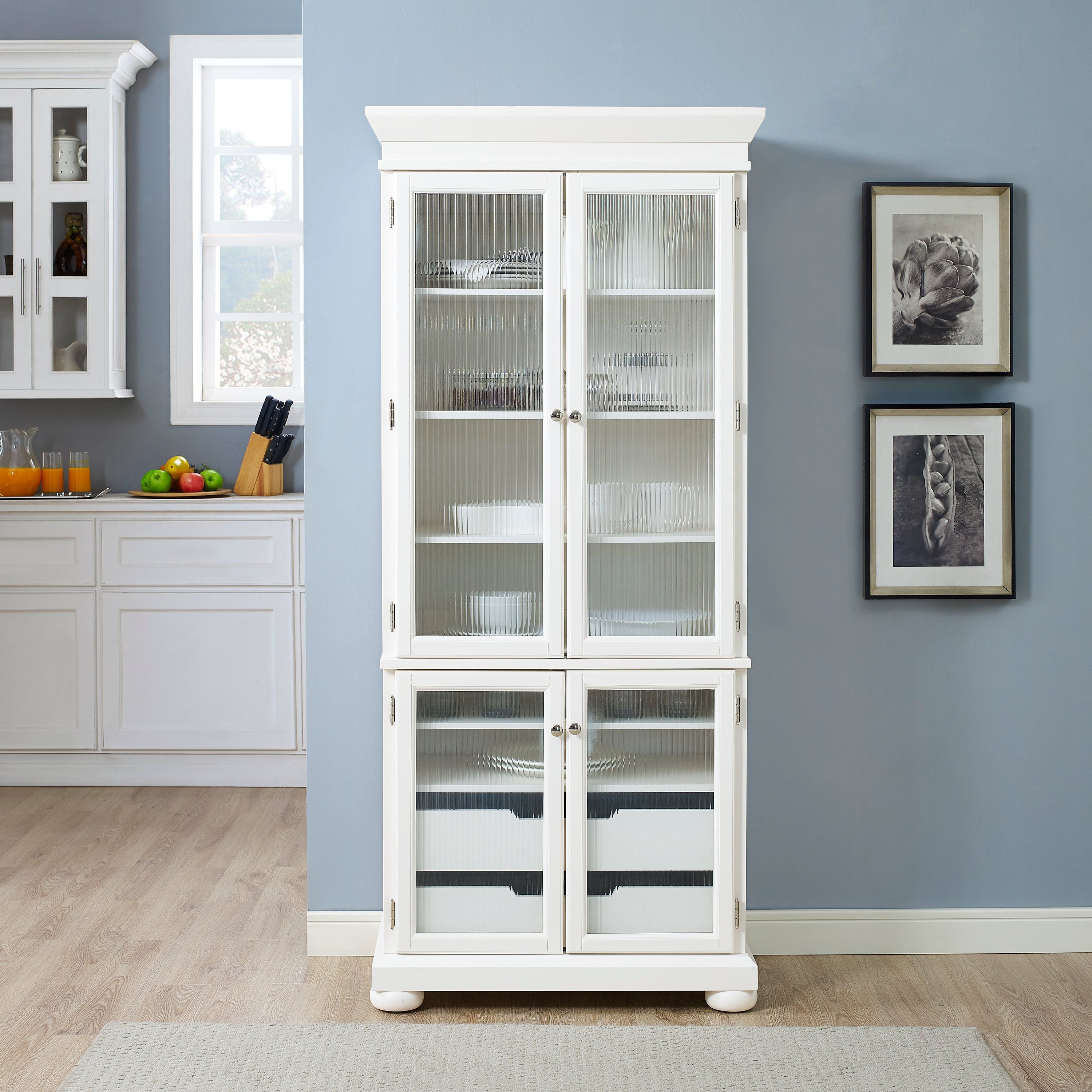 Tall Slim White China Cabinet Alexandria Rc Willey Furniture Store White China Cabinet Kitchen Remodel Cost Pantry Cabinet