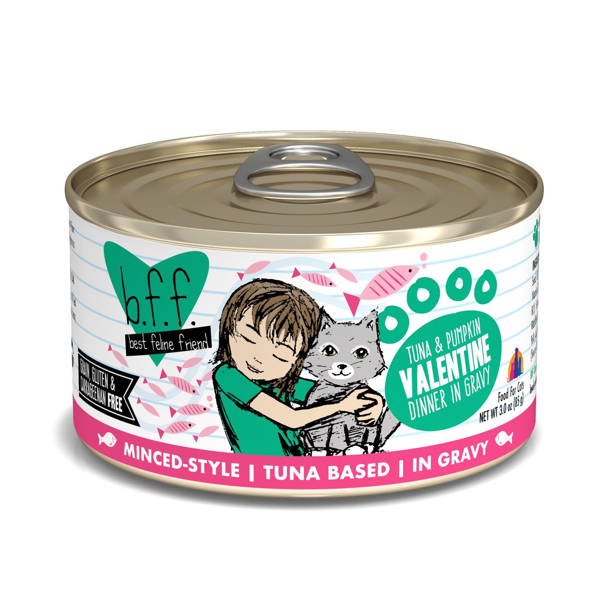 B F F Originals Valentine Tuna Pumpkin Dinner In Gravy Wet Cat