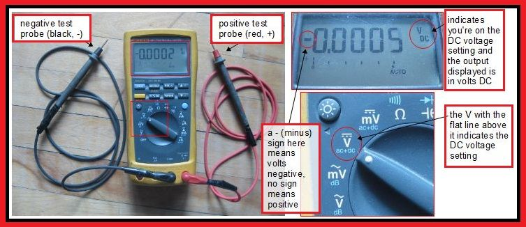 How To Measure Dc Voltage With A Digital Multimeter Elec Eng World Electronic Engineering Multimeter Digital