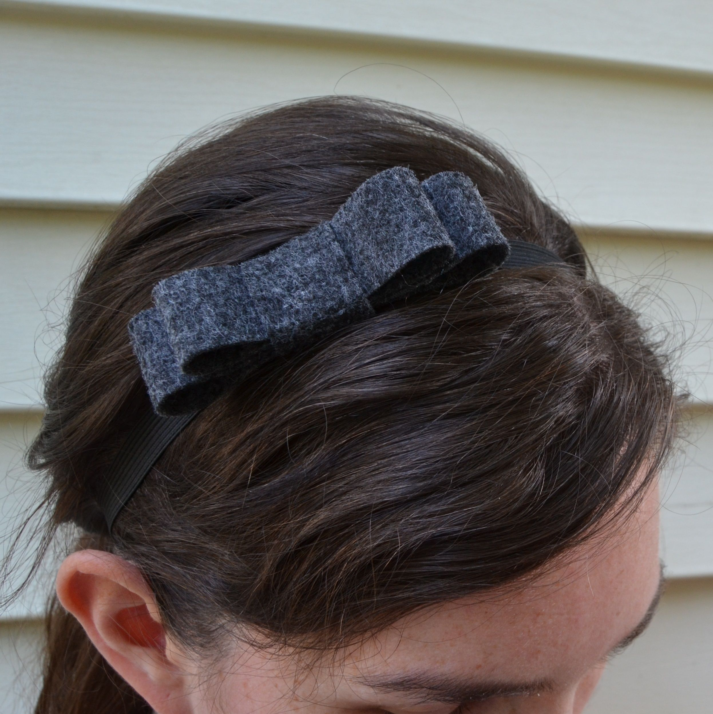 Double Loop Bow Headband