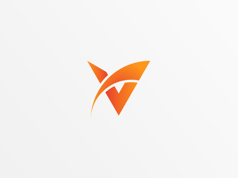 Vancive Logo United States V Logo Design Letter V Letter Logo Design