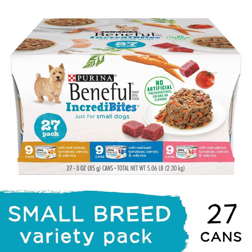 Beneful Incredibites Wet Dog Food Variety Pack 27ct In 2020 Dog