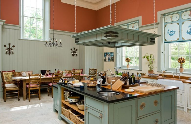 Georgian Country House Kitchen