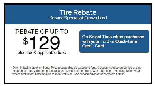 Tire Rotation Special At Crown Ford Fayetteville Http Www