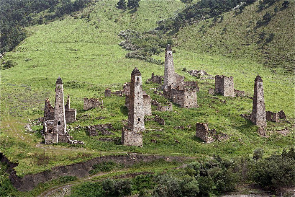 Ингушетия. Галгай   Туризм, Путешествия, Башня
