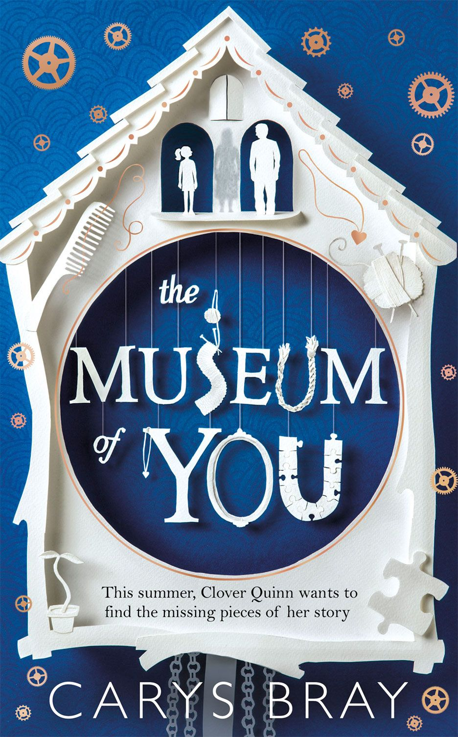Illustrator Mel Four takes us through the process of designing the wonderfully intricate cover for Carys Bray's new book The Museum of You.