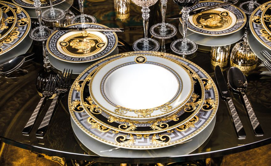 Rosenthal meets Versace - exciting tableware and gift collections of porcelain and crystal. Order now from the Rosenthal online shop. & Rosenthal meets Versace Prestige Gala Moodbild | Pottery | Pinterest