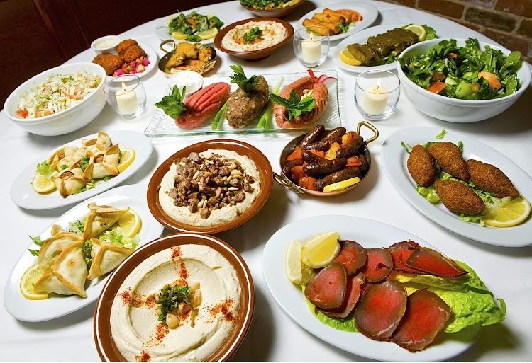 Syrian dishes
