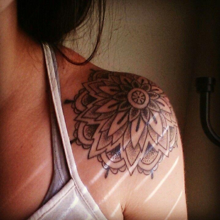 mandala shoulder tattoo by joseph pineda in shreveport la tattoo ideas pinterest shoulder. Black Bedroom Furniture Sets. Home Design Ideas