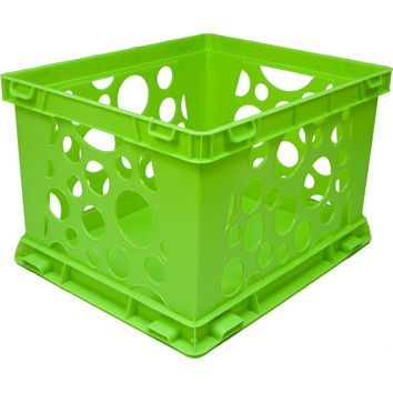 Bright Storage Crates Pop To Liven Up Your Closet Crate Storage