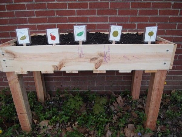 Counter Height Vegetable Garden : garden boxes ana white furniture plans herbs garden vegetable garden ...
