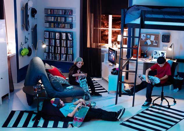 IKEA Teen Bedroom | IKEA Best Teen and Kids Room Decor Pics: IKEA ...