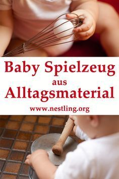 Photo of Baby-Spielzeuge aus Alltagsmaterial