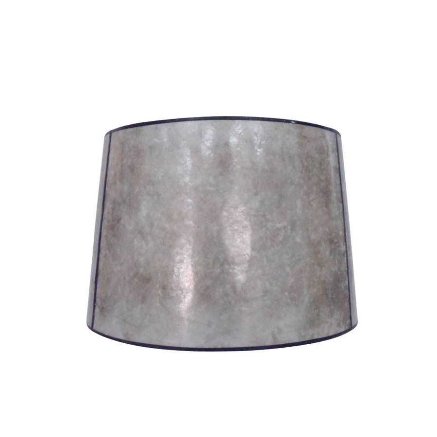 Allen roth 13 in x 15 in blonde mica stone drum lamp shade