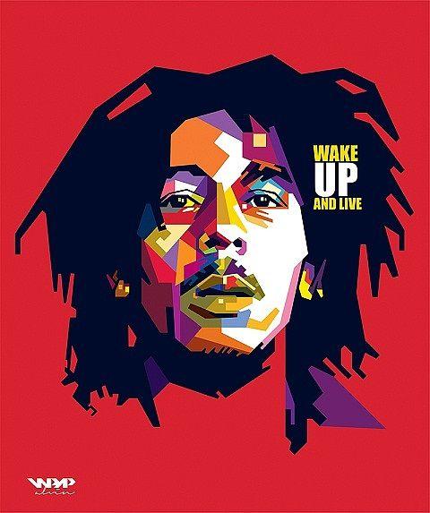 Original Portraits By Alvin Nurul Imam Bob Marley Art Bob
