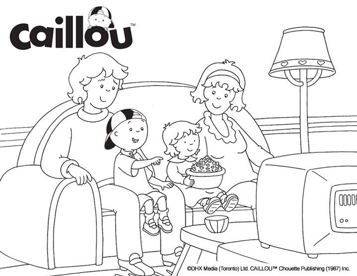 Dibujos De Caillou Para Colorear E Imprimir: Dibujos Para Colorear Caillou. Latest Dibujo Para Colorear
