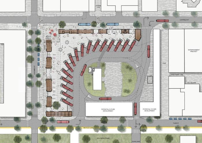 Plan Layout Of The New Interchange C Ccdu Train Stations Bus Stops Pinterest Layouts