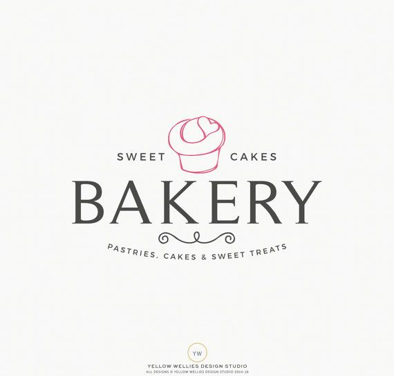 Premade Logo postre insignia de panadería Cupcake cupcake - baker pastry chef sample resume