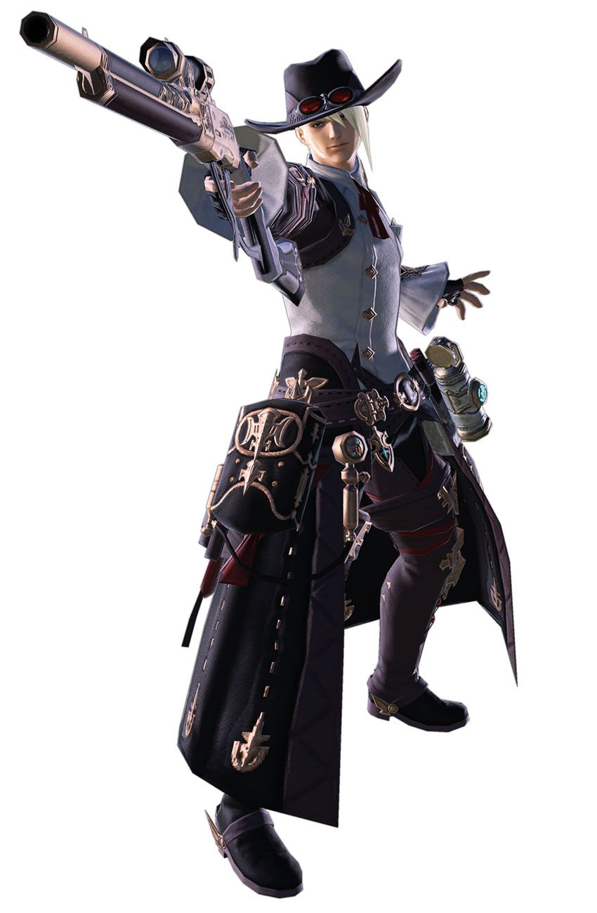 Machinist Render from Final Fantasy XIV: Shadowbringers #art