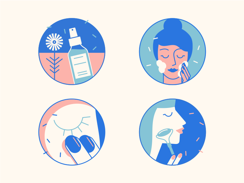 Skin Care [Icons for Infographic Design]