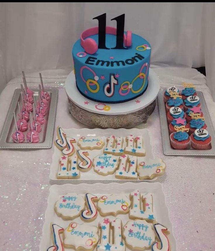 Pin by Karla M on Cake tick tok in 2020   10th birthday ...   Tiktok 10th Birthday Cake