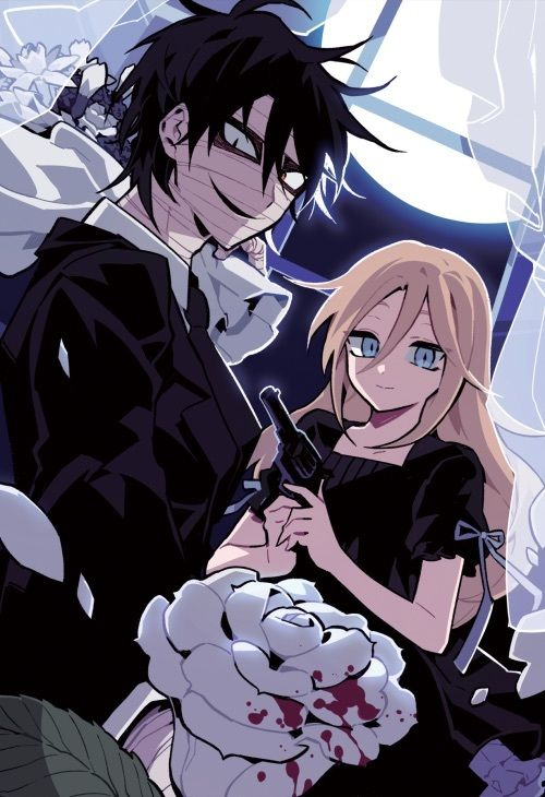 黒の服を着た殺戮の天使