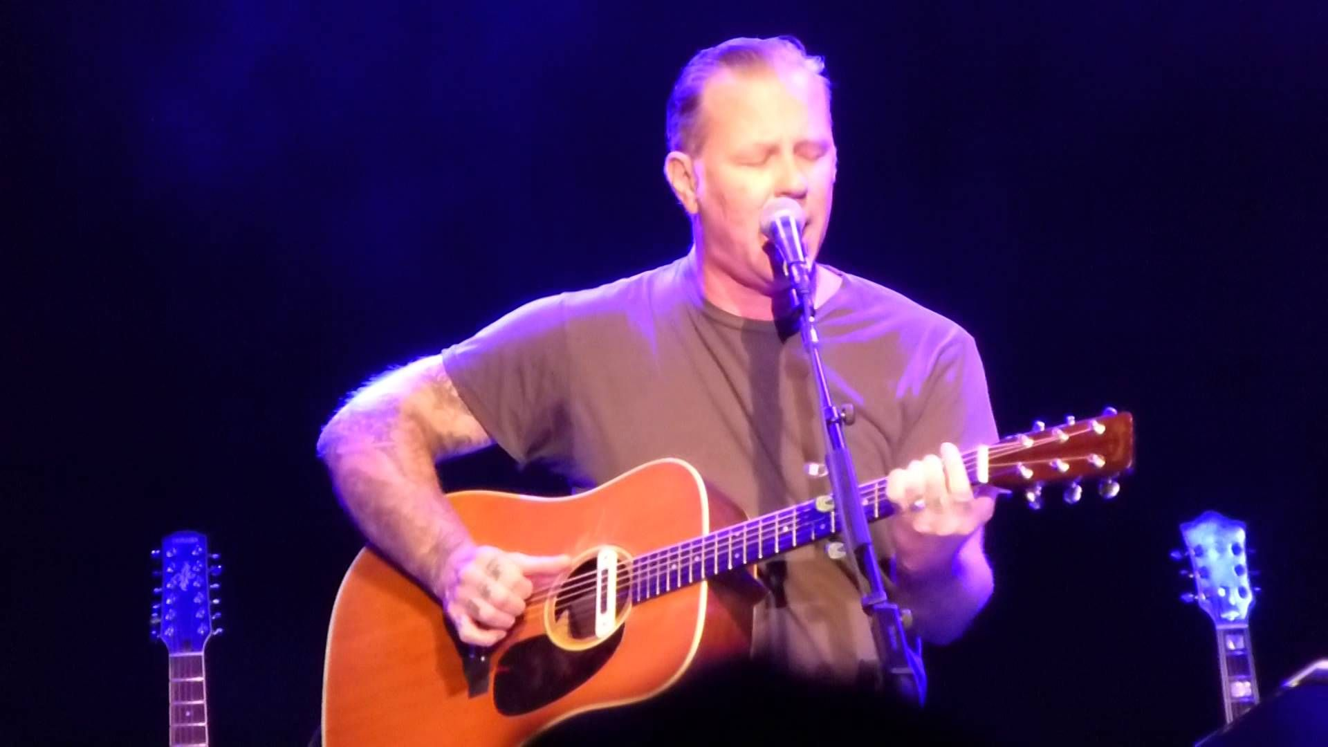 """James Hetfield """"In My Life"""" Acoustic-4-A-Cure Live San Francisco Fillmore"""