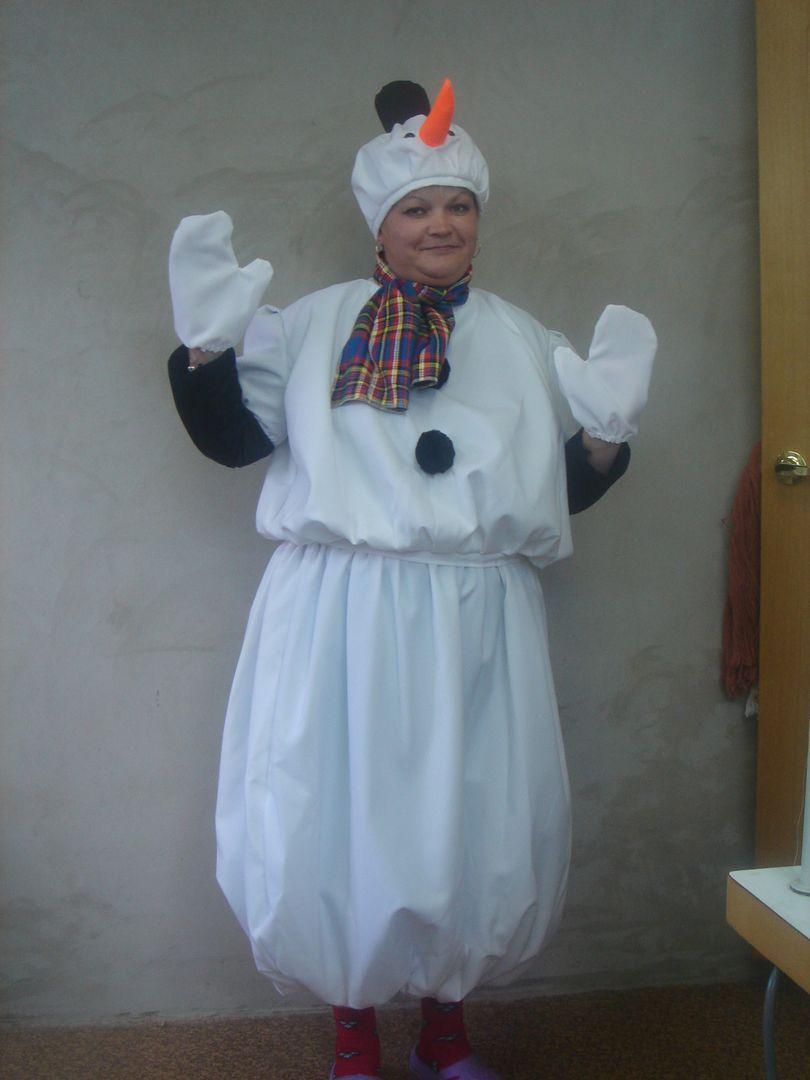 представлен большой как сшить костюм снеговика своими руками фото судьба