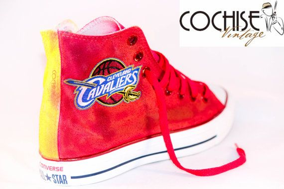 c251db8c6663 Custom Converse Cleveland Cavaliers Chuck Taylor All Stars