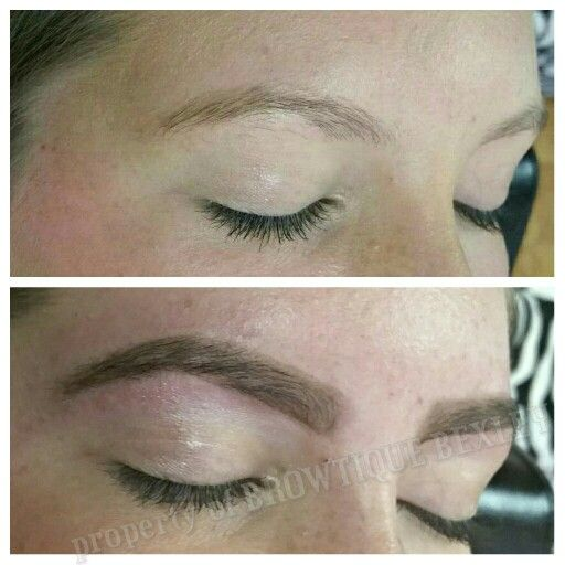 Before and After Brow Shaping and Tint by Brows by Shaila | Brows ...