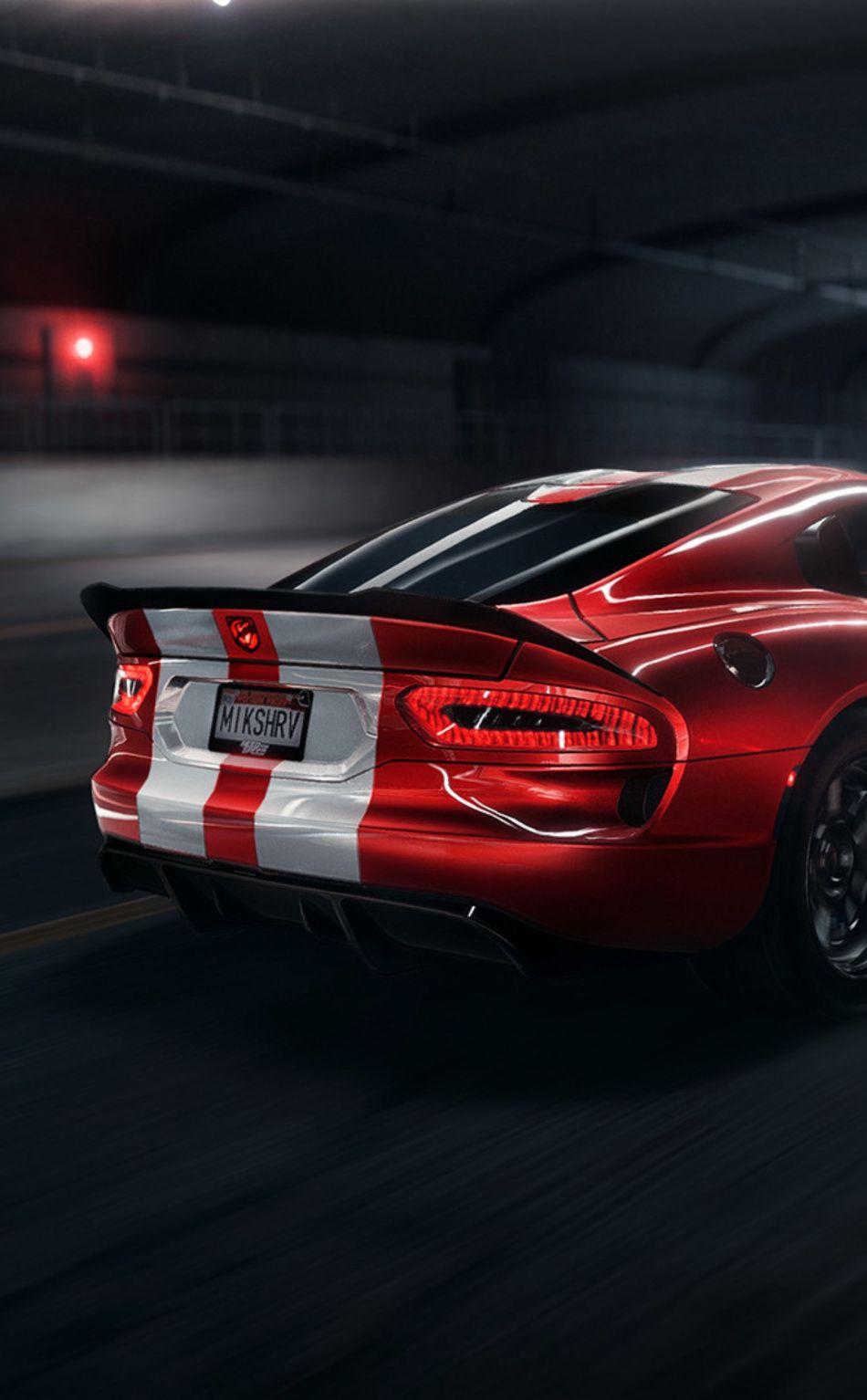 950x1534 Dodge Viper Srt Dodge Car Artwork Wallpaper Dodge Viper Viper Srt