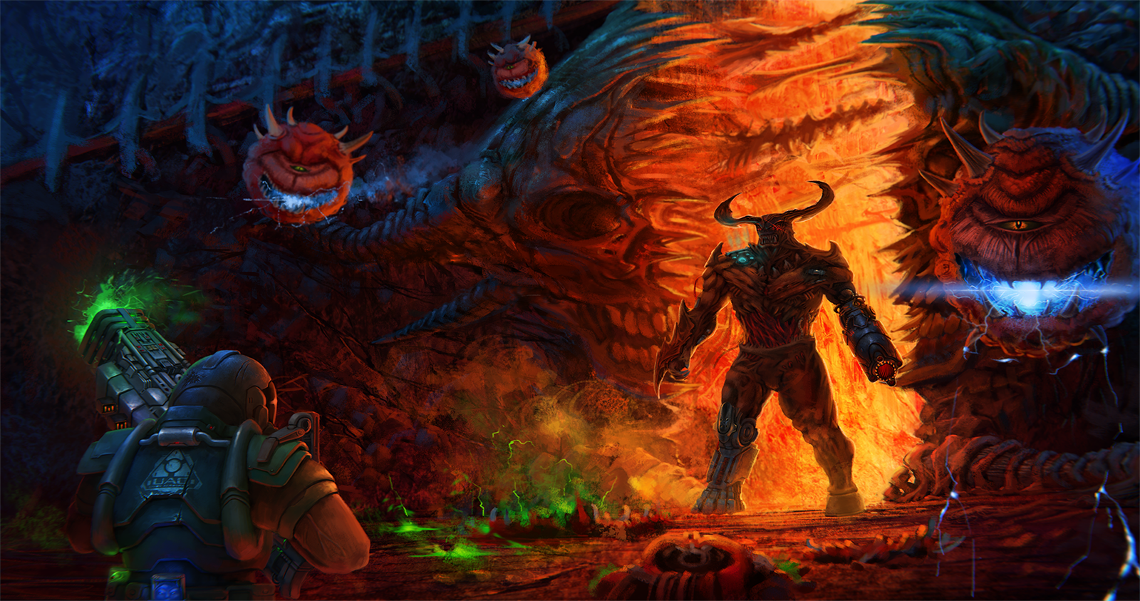 brutal doom wallpaper - photo #14