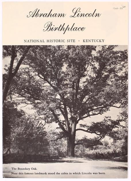 Abraham Lincoln Birthplace National Historic Site Kentucky United States National Park Service Free Download Borrow And Streaming Historical Sites Abraham Lincoln Birthplace Kentucky