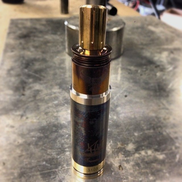 New #caravela #patriot #drip setup.  #torched #vape #clone blowing #clouds #Padgram