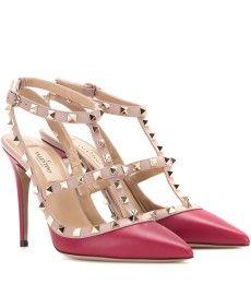 Valentino - Rockstud leather pumps - mytheresa.com