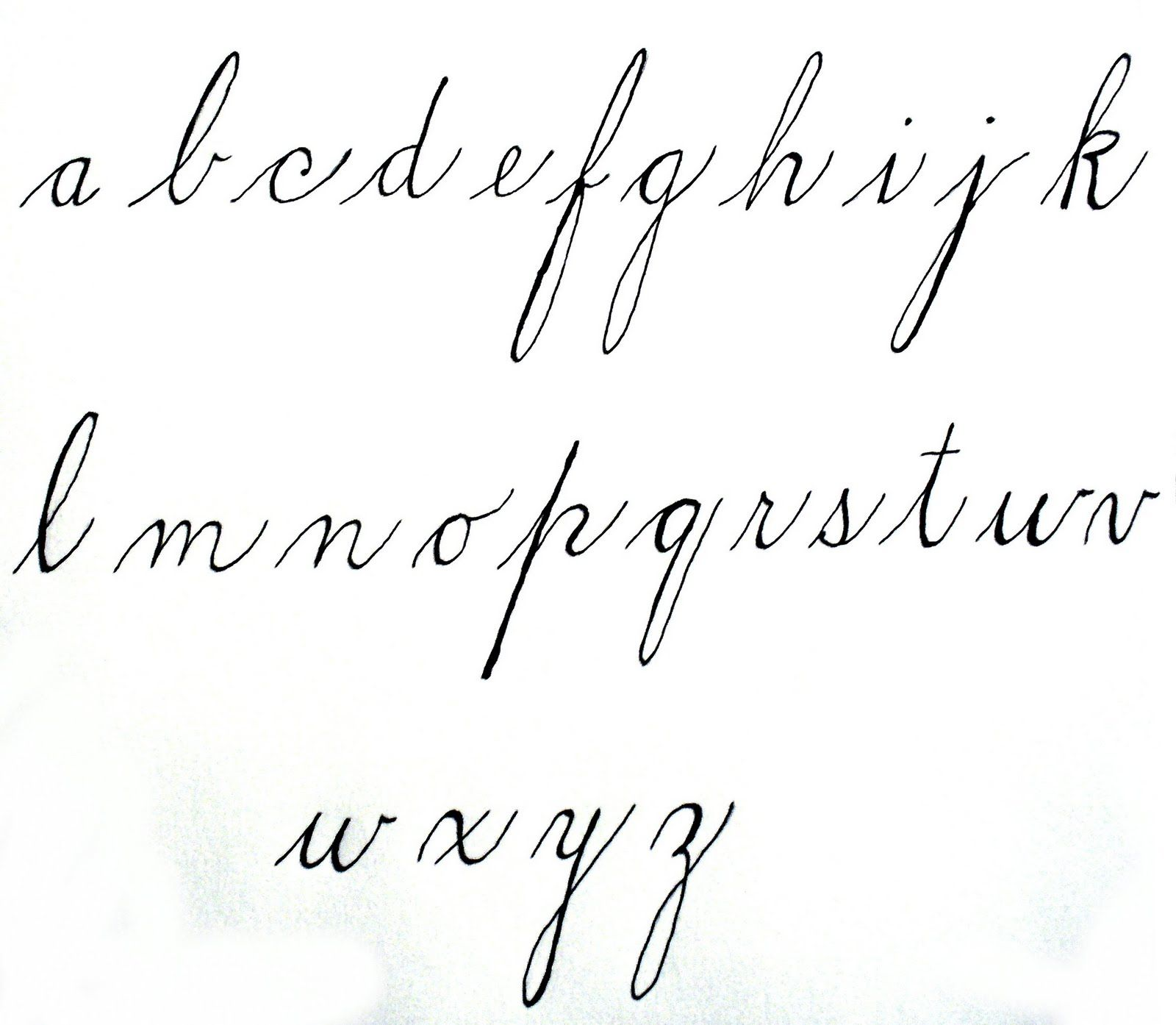 Letter In Cursive Penmanship In The 1800s Google Search Calligraphy Penmanship