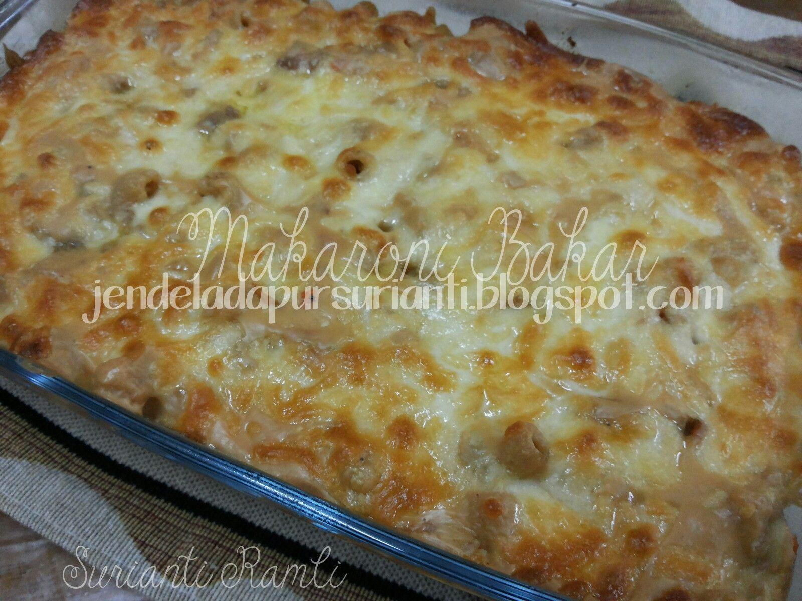 Alhamdulillah Dinner Kami Jam 7 Tadi Makaroni Bakar Ini Lebih Kurang Dengan Resepi Makaroni Goreng Yang Pernah Sue Macaroni Cheese Food Macaroni And Cheese