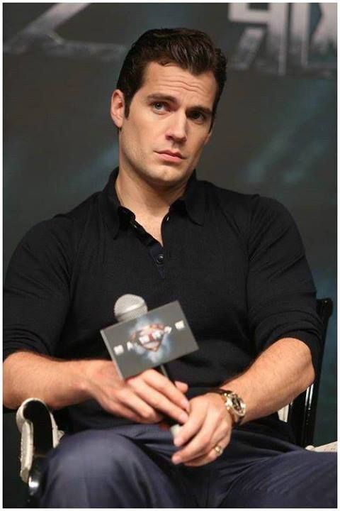 Henry Cavill @ Man of Steel Press Conference in Shanghai,20/6/2013