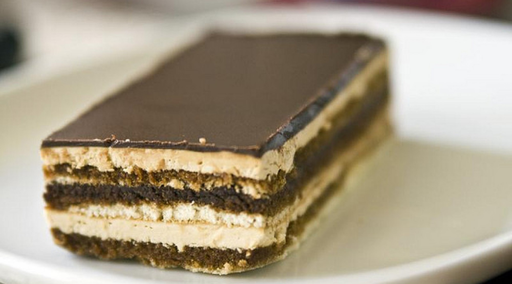 Opera Cake in 2020 Opera cake, Desserts, Cake recipes