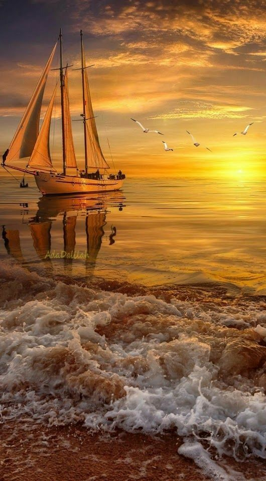 Pin By Ashkan Babakhany On Oceans Water Photography Waterscape Boat