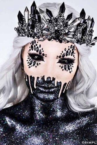 16 aufregende gruselige Halloween-Make-up-Ideen – Active Blab