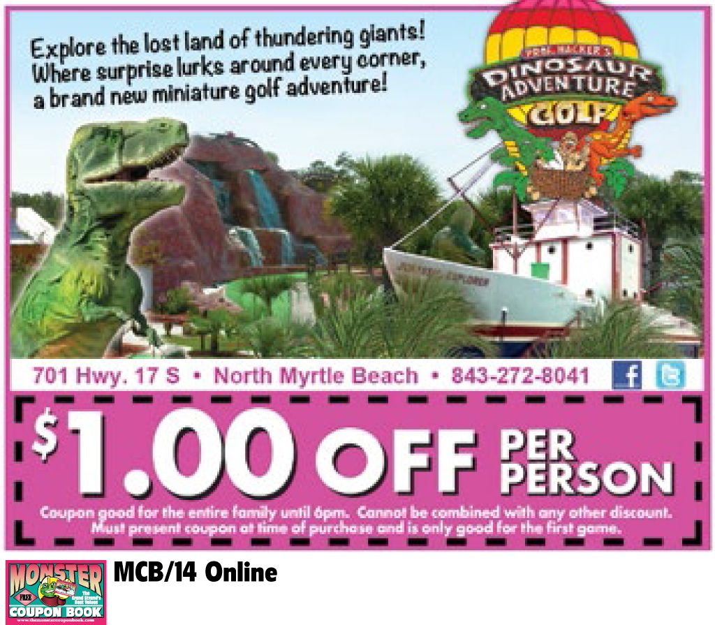Pin On Coupons For Myrtle Beach
