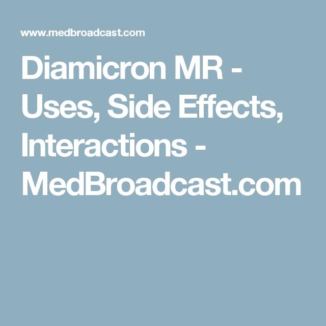 diabetes diamicron mr