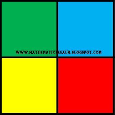 How To Divide A Square Into Four 4 Equal Parts Realm Of Mathematics Divider Square Mathematics